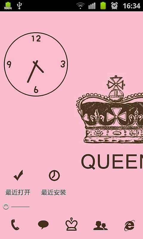 女王的皇冠-91桌面主题免费美化壁纸-mobile market