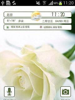 玫瑰花的香-主题桌面